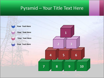 Electricity pylons PowerPoint Template - Slide 31