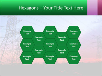 Electricity pylons PowerPoint Template - Slide 44