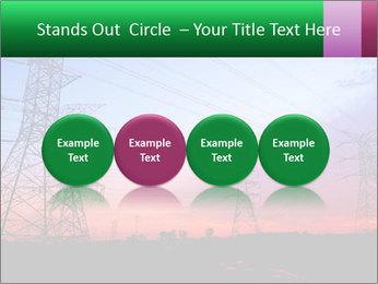 Electricity pylons PowerPoint Template - Slide 76