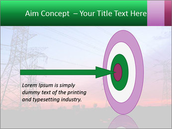 Electricity pylons PowerPoint Template - Slide 83