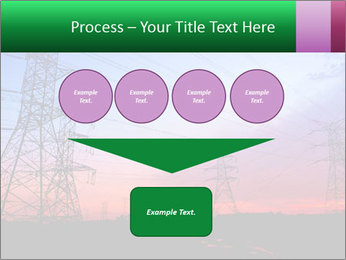 Electricity pylons PowerPoint Template - Slide 93