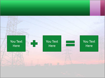 Electricity pylons PowerPoint Template - Slide 95