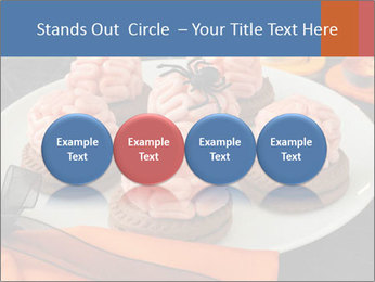 Funny cookie PowerPoint Template - Slide 76