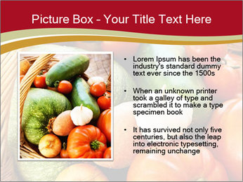 Summer vegetables PowerPoint Templates - Slide 13