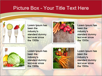 Summer vegetables PowerPoint Templates - Slide 14