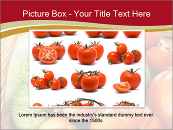 Summer vegetables PowerPoint Templates - Slide 15