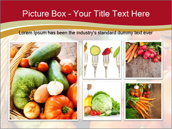 Summer vegetables PowerPoint Templates - Slide 19