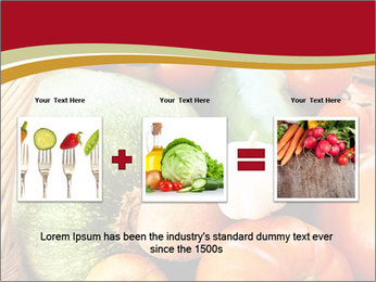 Summer vegetables PowerPoint Templates - Slide 22