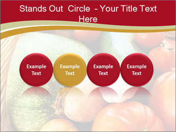 Summer vegetables PowerPoint Templates - Slide 76