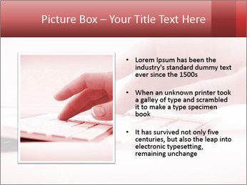 Woman's hand PowerPoint Template - Slide 13