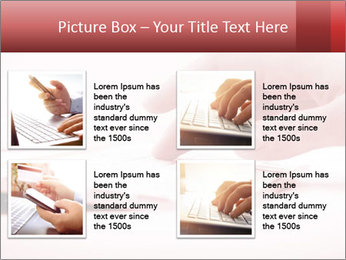 Woman's hand PowerPoint Template - Slide 14