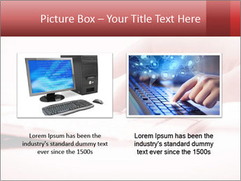 Woman's hand PowerPoint Template - Slide 18