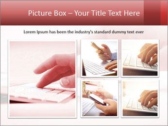Woman's hand PowerPoint Template - Slide 19