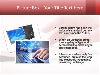 Woman's hand PowerPoint Template - Slide 20