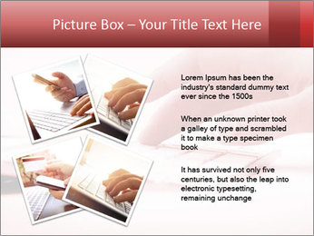 Woman's hand PowerPoint Template - Slide 23