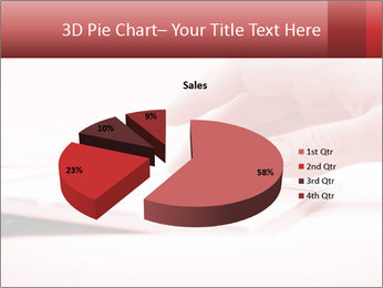Woman's hand PowerPoint Template - Slide 35