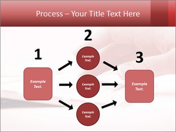 Woman's hand PowerPoint Template - Slide 92