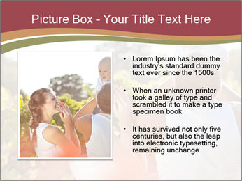 Young and happy family PowerPoint Template - Slide 13