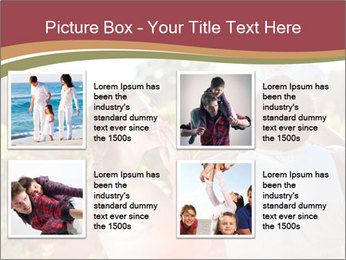 Young and happy family PowerPoint Template - Slide 14