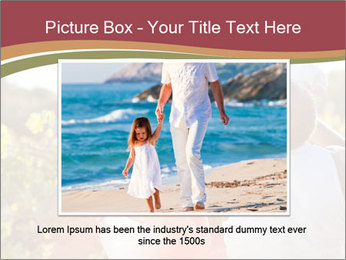 Young and happy family PowerPoint Template - Slide 15