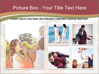 Young and happy family PowerPoint Template - Slide 19
