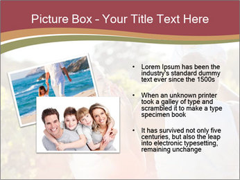 Young and happy family PowerPoint Template - Slide 20