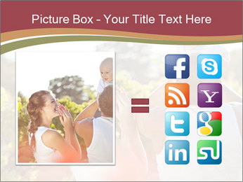 Young and happy family PowerPoint Template - Slide 21