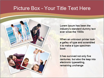 Young and happy family PowerPoint Template - Slide 23