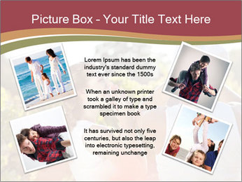 Young and happy family PowerPoint Template - Slide 24