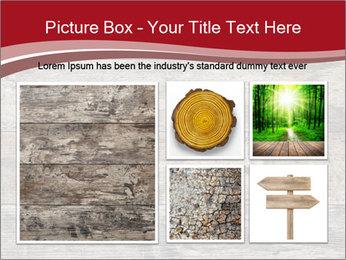 Wood PowerPoint Template - Slide 19