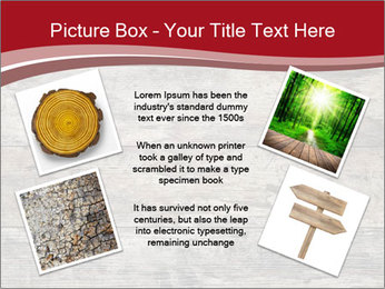 Wood PowerPoint Template - Slide 24