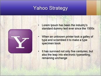 Fresh spring green grass PowerPoint Template - Slide 11
