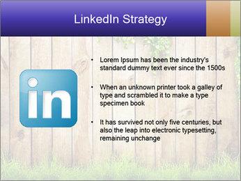 Fresh spring green grass PowerPoint Template - Slide 12