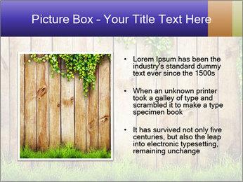 Fresh spring green grass PowerPoint Template - Slide 13