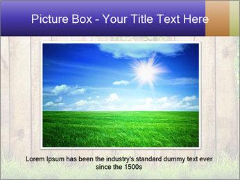 Fresh spring green grass PowerPoint Template - Slide 15
