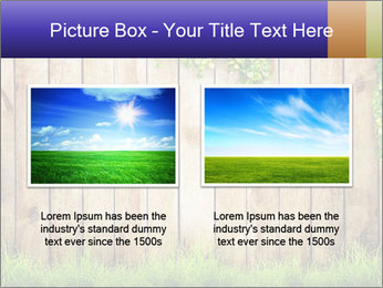 Fresh spring green grass PowerPoint Template - Slide 18
