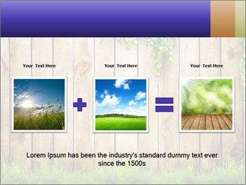 Fresh spring green grass PowerPoint Template - Slide 22