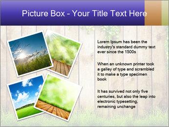 Fresh spring green grass PowerPoint Template - Slide 23