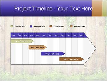Fresh spring green grass PowerPoint Template - Slide 25