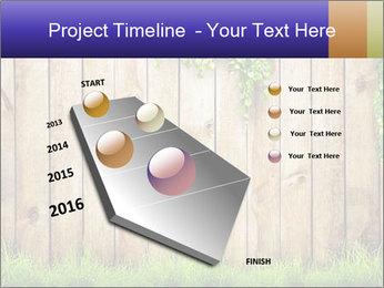 Fresh spring green grass PowerPoint Template - Slide 26