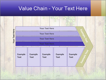 Fresh spring green grass PowerPoint Template - Slide 27