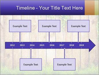 Fresh spring green grass PowerPoint Template - Slide 28