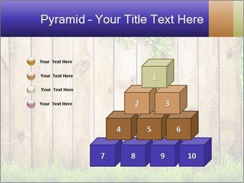 Fresh spring green grass PowerPoint Template - Slide 31