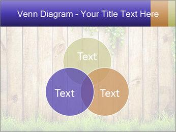 Fresh spring green grass PowerPoint Template - Slide 33