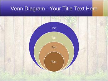 Fresh spring green grass PowerPoint Template - Slide 34