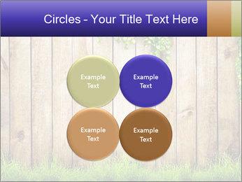 Fresh spring green grass PowerPoint Template - Slide 38