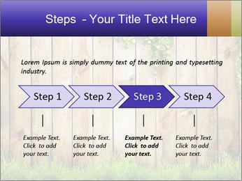 Fresh spring green grass PowerPoint Template - Slide 4