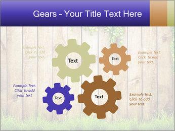 Fresh spring green grass PowerPoint Template - Slide 47