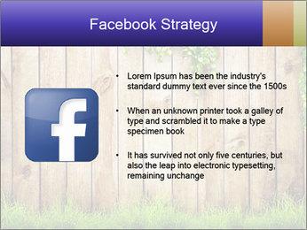 Fresh spring green grass PowerPoint Template - Slide 6
