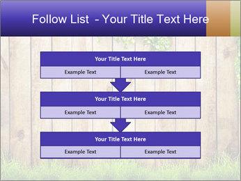 Fresh spring green grass PowerPoint Template - Slide 60